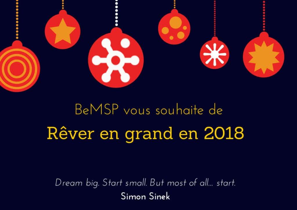 Voeux BeMSP 2018