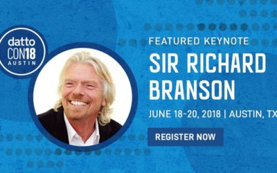 Sir Richard Branson prononcera la keynote à la DattoCon18