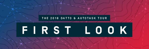 [Event] First Look : Datto & Autotask Tour à Paris le 5 juin – un RDV inédit en France pour les prestataires de services managés