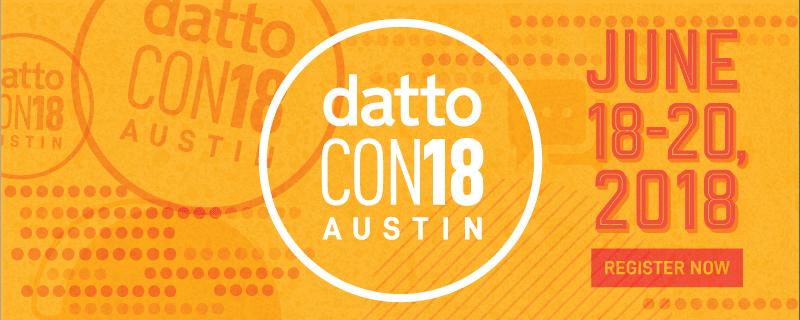 [DattoCon18] Suivez la conférence en Live ! (& Webinar Recap)