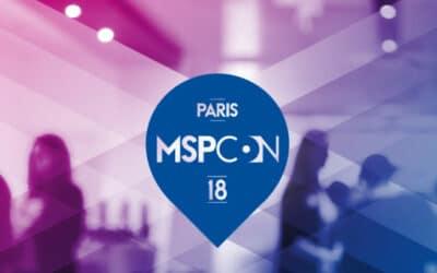 MSPCon le 6 décembre 2018 à Paris – L'événement MSP#1 en France