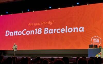 [Communiqué] DattoCon18 Barcelone : 20 innovations produits pour les MSP