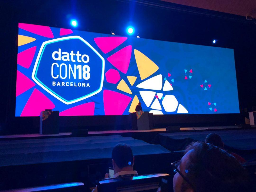 [Recap] DattoCon18 à Barcelone : nouveautés, unboxing, awards, French MSP