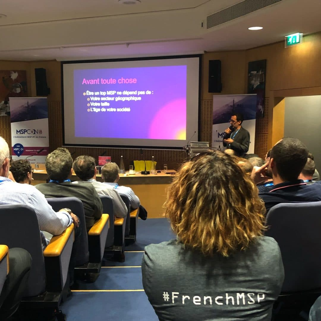 [Flashback] Une MSPCon18 successful avec les #FrenchMSP