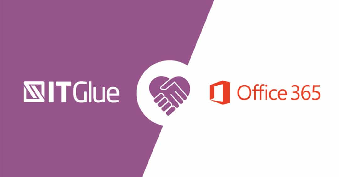 Intégration IT Glue avec Office 365