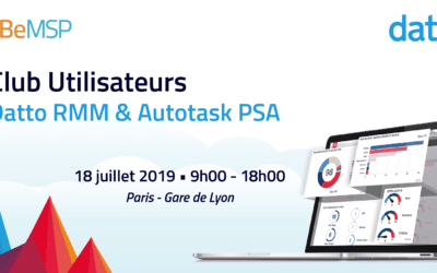 [Meeting] Club Utilisateurs Datto RMM & Autotask PSA 2019