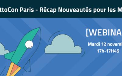 [Webinar] DattoCon Paris – Récap des nouveautés produit