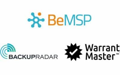 [Communiqué] BeMSP signe 2 nouveaux partenariats avec Backup Radar et Warranty Master