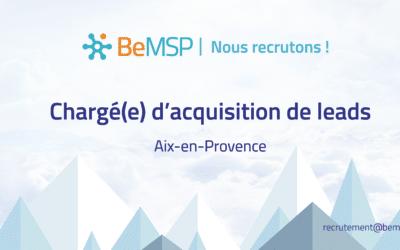 [Recrutement] Chargé(e) d'acquisition de leads