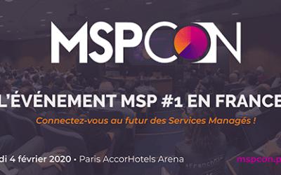 Un programme focus MSP – MSPCon Paris le 4 février 2020