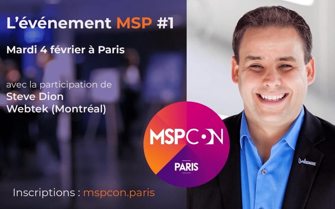 [MSPCon] 5 sessions à ne pas rater – Mardi 4 février à Paris