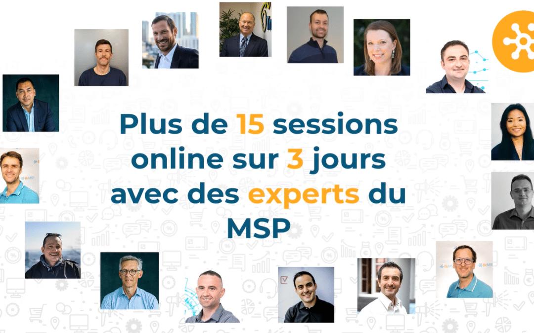 Un concentré d'expertise sur les Services Managés au FrenchMSP Summit – 7 au 9 juillet 2020