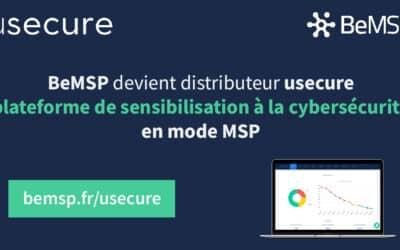 BeMSP devient distributeur usecure, plateforme de sensibilisation à la cybersécurité en français [Communiqué de presse]