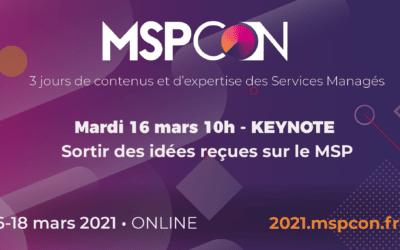 MSPCon // Programme de la conférence MSP // 16 au 18 mars 2021