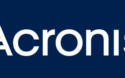 [Communiqué de presse] Cyberprotection : Acronis signe un nouveau partenariat avec BeMSP