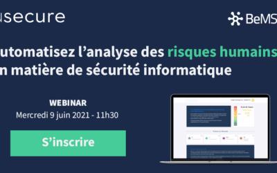 [Webinar] Automatisez l'analyse des risques humains en matière de sécurité informatique – usecure