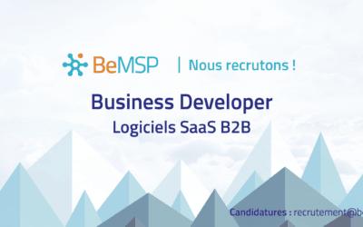 [Recrutement] Business Developer – Logiciels SaaS B2B – H/F