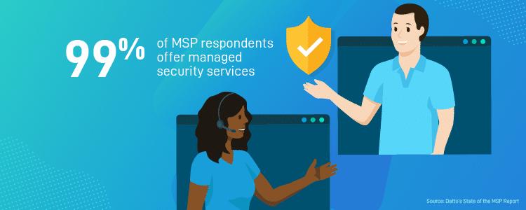 Les MSP proposent des services de sécurité managés