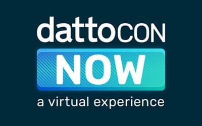 DattoCon Seattle devient DattoCon NOW – une conférence virtuelle pour les MSP