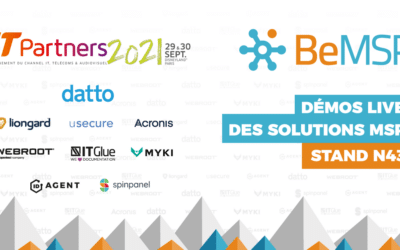 [IT Partners 2021] BeMSP, Datto et solutions MSP – Stand N43